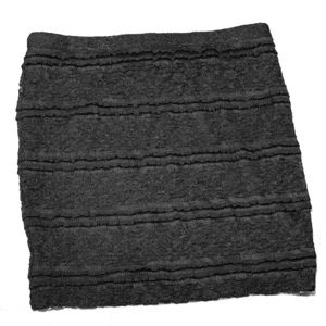 Dresses & Skirts - Black Mini Skirt with Lace Detail